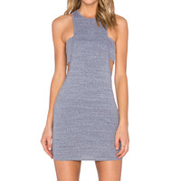 NYTT Zoe Bandeau Dress in Heather Grey