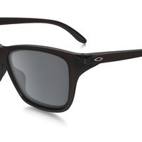 Oakley Sunglasses - Hold On - Frosted Rhone, Black Iridium OO9298-04