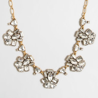 Factory fanned clusters necklace