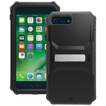Trident Kraken A.m.s. Series Case With Holster For Iphone 7 Plus (black)