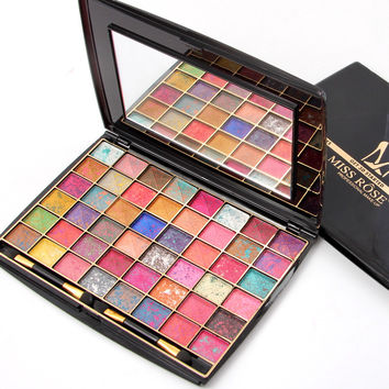MISS ROSE 48 Colors Mixed-color Eye Shadow [11517937743]