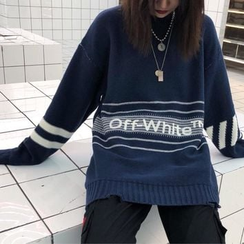 Wholsale women or men OFF-White Knitted sweaters 501965868-014