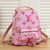 Louis Vuitton LV Hot Sale New Printed Small Backpack Fashion Lady Bag