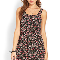 Wild Rose Babydoll Dress