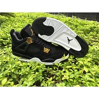 Air Jordan retro 4 royalty pure money men women basketball shoes sneakers