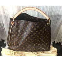 LV Classic Presbyopia Vintage Large Capacity Shoulder Bag