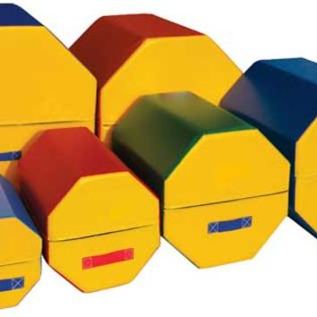 Kids Gymnastics Equipment - Octagon Tumblers.