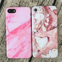 Retro Marble iPhone Case for iPhone 7 7Plus & iPhone 6s 6 Plus & iPhone X 8 Plus with Gift Box