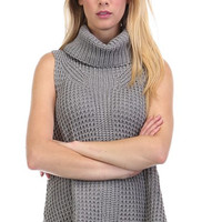 High Profile Charcoal Cowl neck Sweater