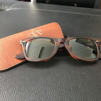 Vintage Ray Ban Wayfarer 40 Years Special Edition Bausch&Lomb Model B&L 5022