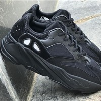 Adidas Yeezy Runner 700 black  Basketball Shoes 36-46
