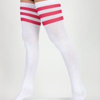 rsaskth - Stripe Thigh-High Socks