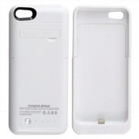Citra 2200mAh External Battery Case Power Bank for iPhone 5 iPhone 5S iPhone 5C (Blue)