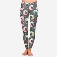 CLEARANCE Unicorn Paisley Swirls Leggings