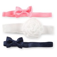 3-Pack Baby Head Wraps