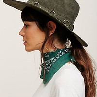 Free People Ring Leader Faux Suede Hat