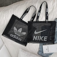 ADIDAS x NIKE x PUMA Best Selling Lady Gauze Fashion Single Shoulder Bag