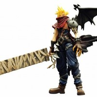 Kingdom Hearts Play Arts Vol. 2 Action Figure - Cloud Strife Coliseum Ver.