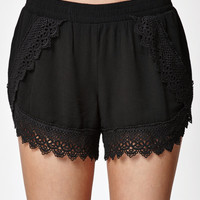 Me To We Crochet Hem Tulip Shorts at PacSun.com
