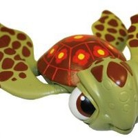 "Swimways FINDING NEMO Sea Turtle Squirt Swimming 8"" Pool Bath Toy"