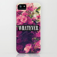 Pink Roses And Whatever iPhone & iPod Case by hyakume #roses #pink #grunge #whatever #iphone #case