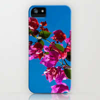 SUNLIGHT AND FLOWERS iPhone & iPod Case by catspaws