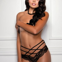 Caged Panty, Sexy Lingerie, Cheap Lingerie, Crotchless Panty