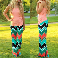 Wave Pattern Trousers