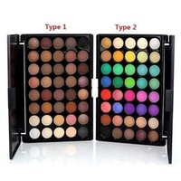 New Mini Portable 40 Colors Eyeshadow Makeup Cosmetic Matte Shimmer Nature Eye Shadow Palette with Eyeshadow Brush [8323206977]