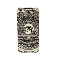 Totem Triangle Hard Cover Case for Iphone4/4s