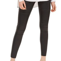 Topshop Skinny Faux Leather Biker Pants | Nordstrom