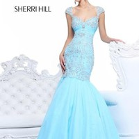 Sherri Hill Dress 21036 at Peaches Boutique
