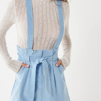 UO Ireley Corduroy Skirtall Overall | Urban Outfitters