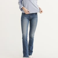 Womens Low-Rise Boot Jeans | Womens Bottoms | Abercrombie.com