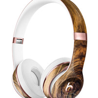 Light Knotted Woodgrain Full-Body Skin Kit for the Beats by Dre Solo 3 Wireless Headphones