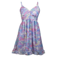 Little Twin Stars Dreamy Unicorn Babydoll Dress