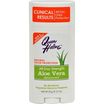 Queen Helene Aloe Deodorant Stick - 2.7 Oz