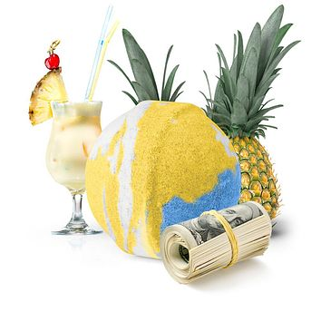 If You Like Pina Coladas! Cash Bath Bomb