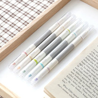 5pcs Twin Deco Pens Set [ Pastel Version ] / Two ways Deco Pens Set / 101220259