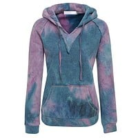 Graded color long sleeve and long sleeve sweater