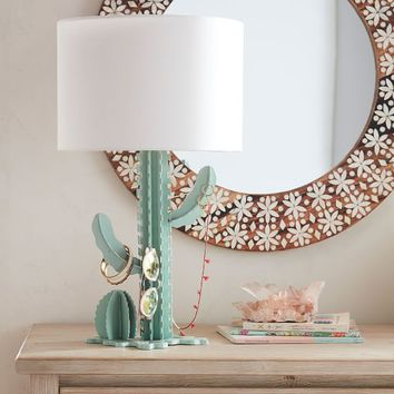 Cactus Display Table Lamp