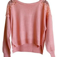 Macra May I Sweater, Coral Pink - SOLD OUT