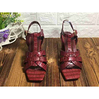 ysl women casual shoes boots fashionable casual leather women heels sandal shoes 162