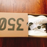 Adidas Yeezy Boost 350V2 Cream White Shoes Kanye West CP9366 Mens Size 4 US 100%