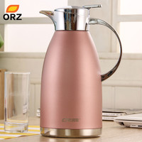 Fishion Pink 2L Stainless Steel Thermos Water Coffee Tea Bottle Vacuum Flask Hot Water Bottle Thermos Flask