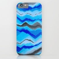Water Mountains iPhone & iPod Case by paulusj
