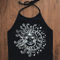 Eda Eclipse Crop Halter