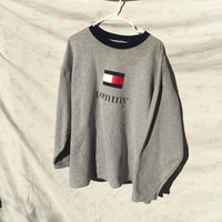 90's Tommy Hilfiger Sweater Made in the USA Great Quality XL