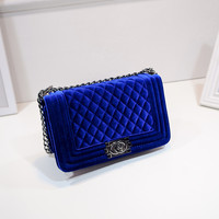 Luxury Quilted Chain Shoulder Bag