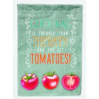 Gardening Therapy and Tomatoes Flag Garden Size BB5432GF